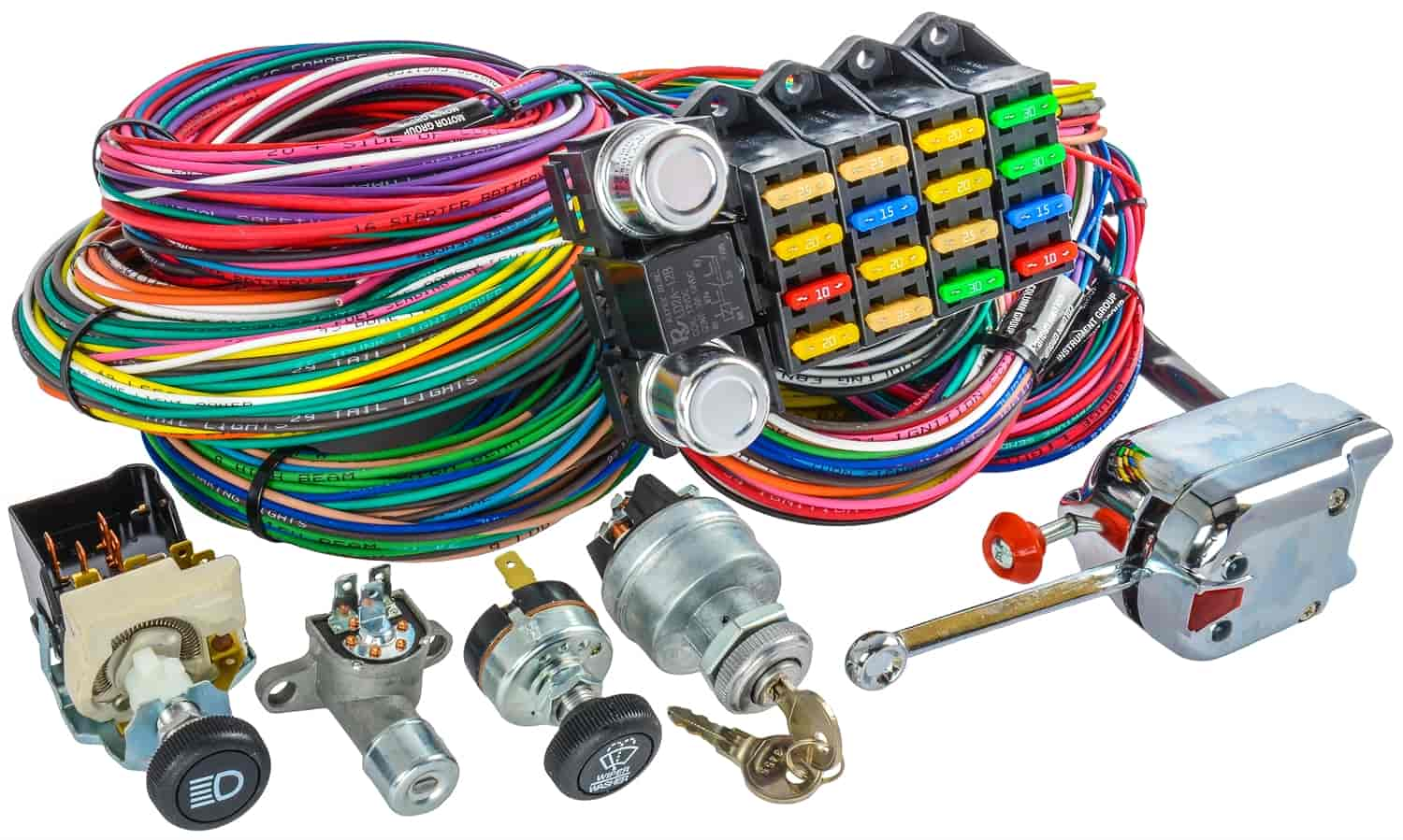 Diagram Wire Jegs Switch Universal Ignition