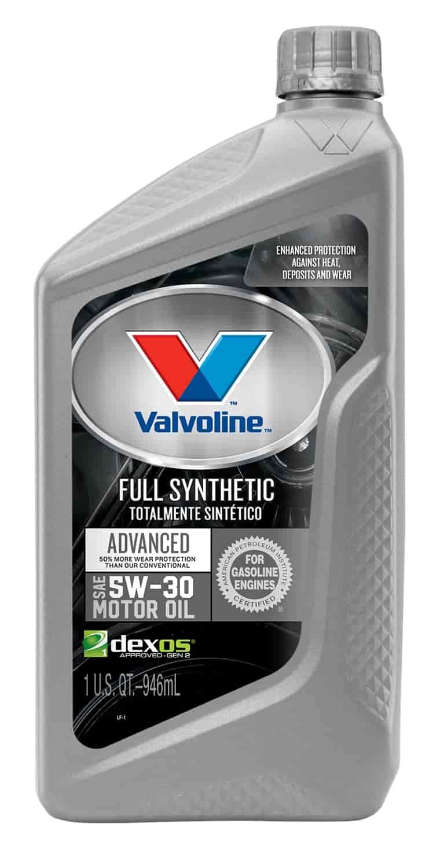 Valvoline Vv955 Synpower Full Synthetic Motor Oil 5w30 Jegs