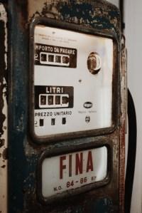 Vintage petrol machine