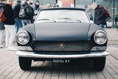 Vintage fiat car