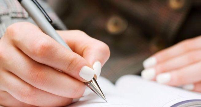 Ecrire à la main