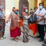 Sambut Lebaran, HKBP Medan Utara Salurkan Bantuan Kepada Warga