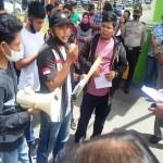 Himpas Gelar Aksi Demo, Diduga Dinas PUPR Padangsidimpuan Tidak Bertanggung Jawab