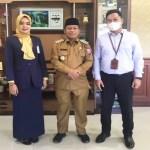 Plt Wali Kota Terima Kunjungan Silaturahmi PT. Bank Mandiri Tanjungbalai