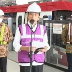 Progres Pembangunan LRT Jabodebek Capai 84,7 Persen, Target Operasi 2022