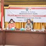 Wali Kota Padangsidimpuan Buka Musyawarah PMI