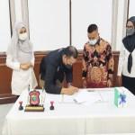 Pemko Tanjungbalai Terima Hibah 393 Thermogun dari KPUD Kota