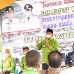 """Syukuran Jalan di Tanjung Beringin, Bupati Sergai: """"Jaga dan Rawat Jalan Ini"""""""