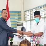 Plt Wali Kota Tanjungbalai Hadiri Rapat Paripurna RPJMD 2021-2026