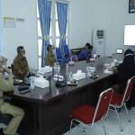 Pemkab Asahan Ikuti Rapat Koordinasi Satgas Covid-19 dengan Gubsu