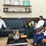 Wakil Bupati Karo Kunjungi Kadisnaker UMKM Sumut