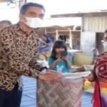 Pemkab Karo Serahkan Bantuan Korban Kebakaran di Desa Lau Kesumpat