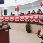 Bupati Karo Sampaikan Atas Pandangan Fraksi DPRD