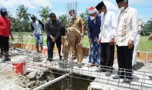 Bupati Asahan Letakkan Batu Pertama Pondok Pesantren Kisaran