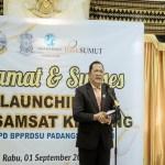 Walkot Padangsidimpuan Launching Bus Samsat Keliling