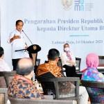 Presiden Tekankan Pentingnya Profesionalisme Dirut BUMN
