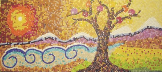 Mozaik psalm 1 850