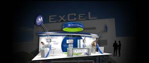 Exhibition stand design at ExCel London Exhibition & Conference centre