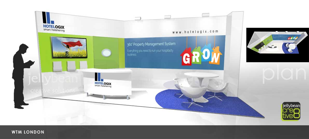 Exhibition Stand Design Agency : Hotel logixx exhibition booth design world travel market