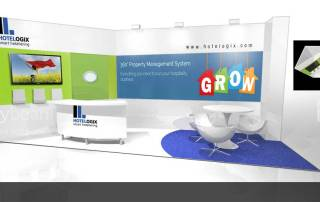 WTM Exhibition Stand Design Hotel Logixx