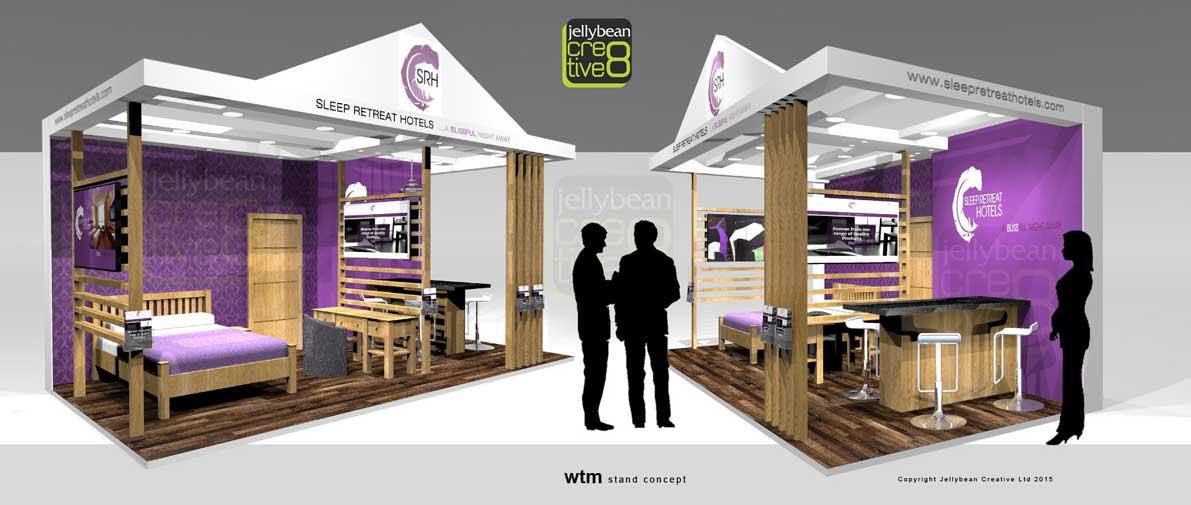 Sleep Retreat World Travel Market Exhibition Stand Design Agency