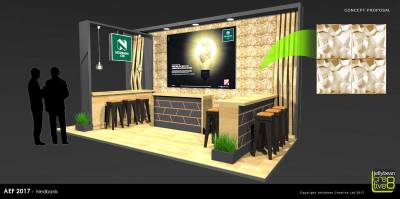 Exhibition Design Nedbank Africa Energy Forum Copenhagen