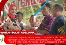 Photo of Berita Video, Festival Tani Jember 2019 di Kec Mumbulsari