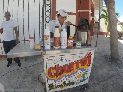Street cart churros