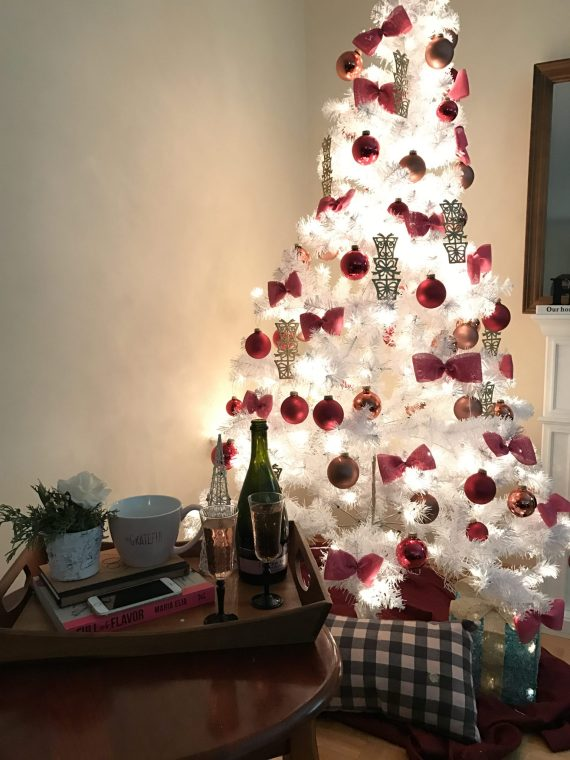 under 35 for the most beautiful chic white and pink christmas tree well call me budget queen because thats exactly what i did - When Did White Christmas Come Out
