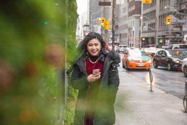 Winter Photos in Downtown Toronto