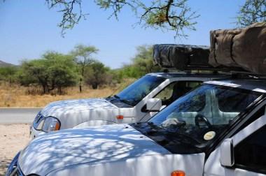 4x4 Nissan en Namibie