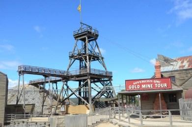 Mine de Ballarat Australie