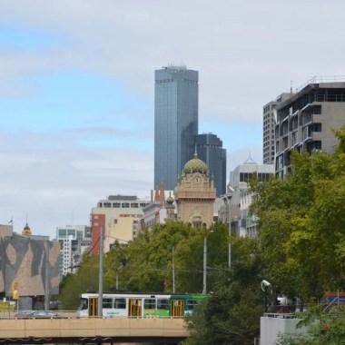Vue de Melbourne Australie