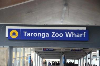 Embarcadère du zoo de Sydney