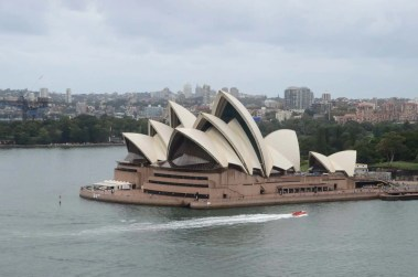 Opéra de Sydney Australie depuis Harbour Bridge
