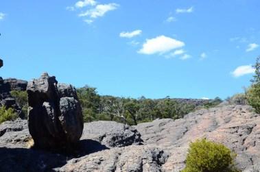 Vue aux Grampians Australie