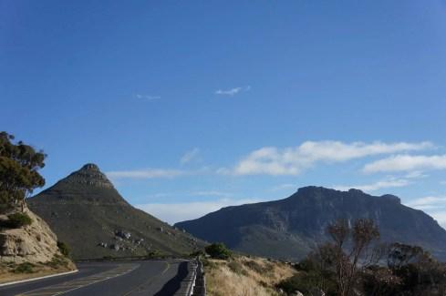 Route d'accès au Cap de Bonne Espérance Afrique du Sud