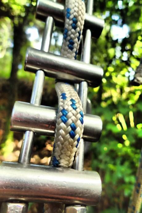 Corde de rappel à Waitomo