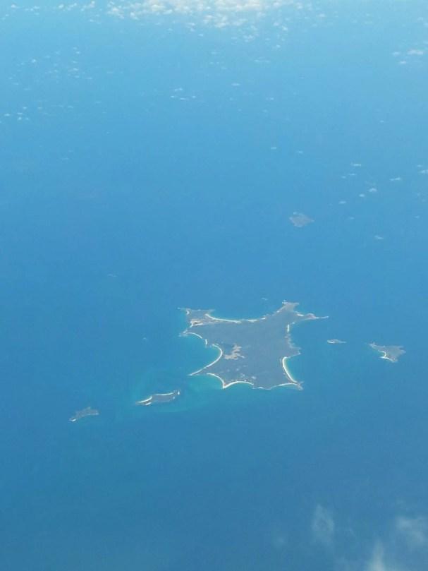 Whitsundays depuis le ciel