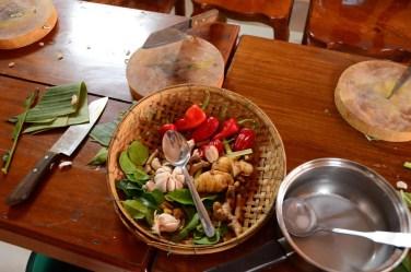 Mélange de saveurs khmer