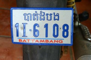 Plaque de moto
