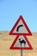 Panneaux du désert