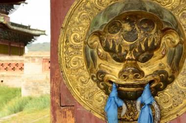 Détail de porte à Karakhorum