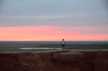 Sunset au Bayanzang