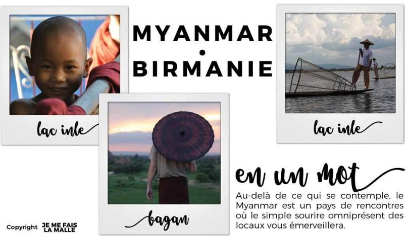 mon voyage en birmanie