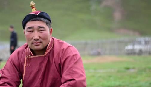 Lutteur mongol
