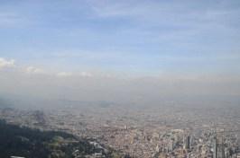 Vue du haut du funicalaire de Monserrate
