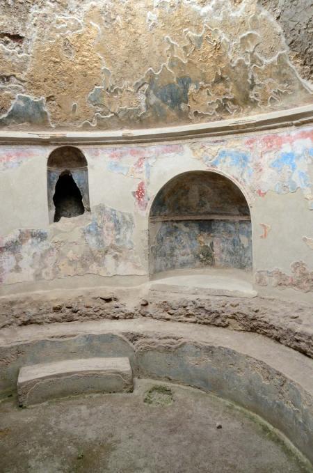 Thermes de Pompei, Italie