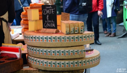 Un peu de fromage au Borough Market?