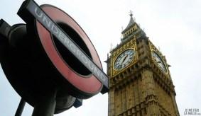 Big Ben et métro Underground
